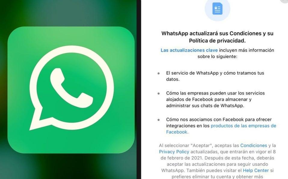 whatsapp nueva política de privacidad