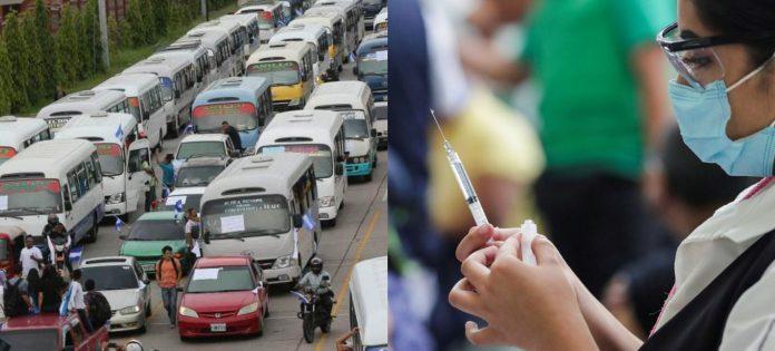 vacunación transportistas Honduras