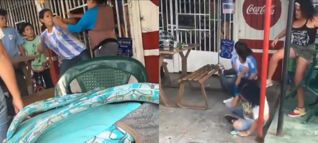 pelean por un novio en siguatepeque