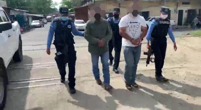 Por «matar al menos 6 personas», capturan a dos sujetos en Santa Cruz de Yojoa