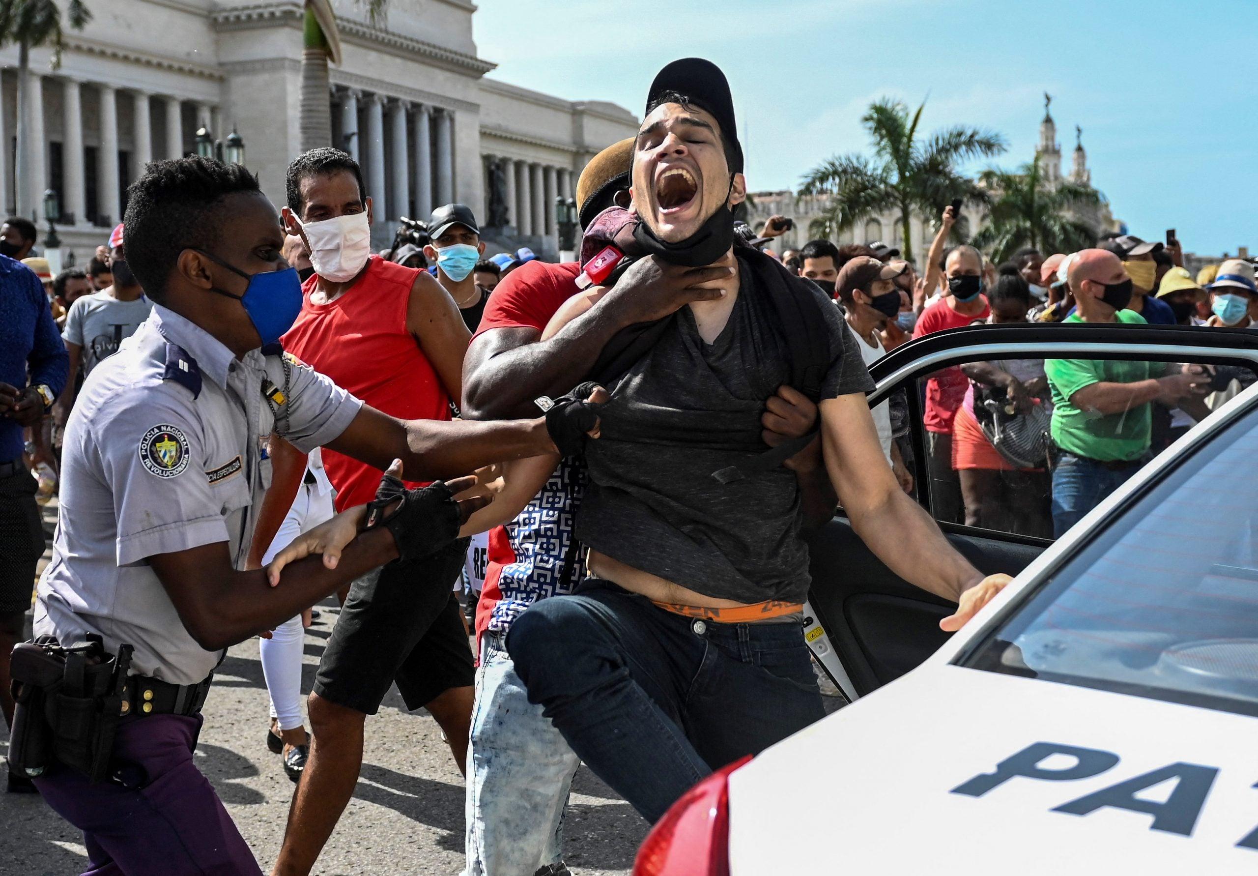 presidente de cuba protestas