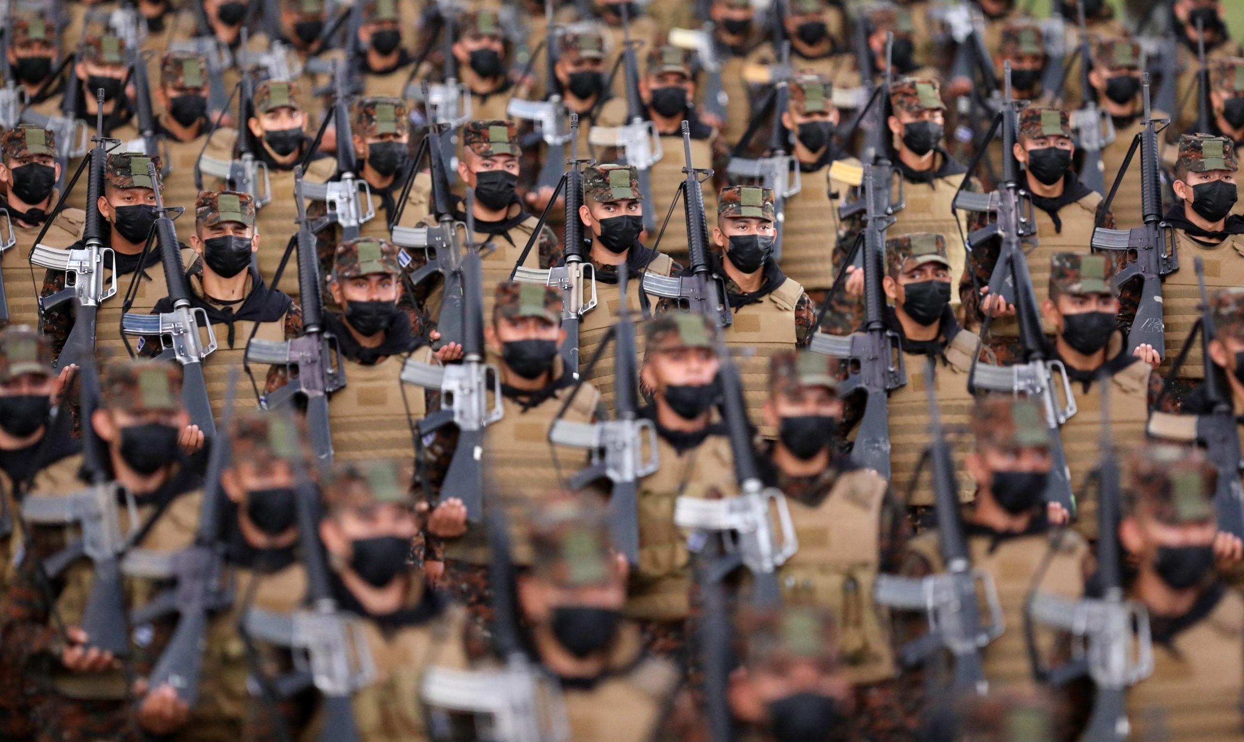 bukele Ejército de El Salvador