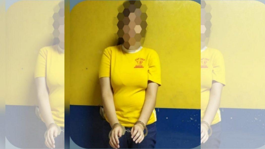 Mujer capturada Danli
