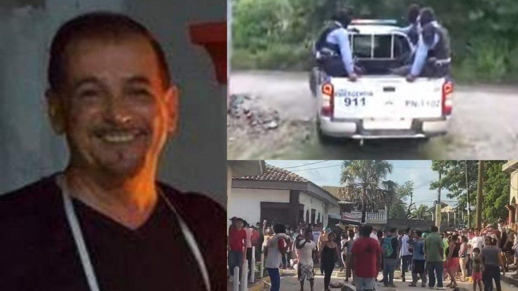 Policía iba a allanar casa de italiano