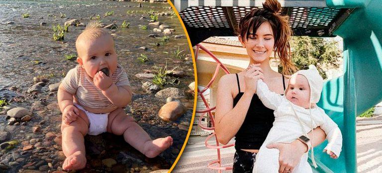 Madre permite que su bebé coma arena y piedras: ella revela por qué lo hace