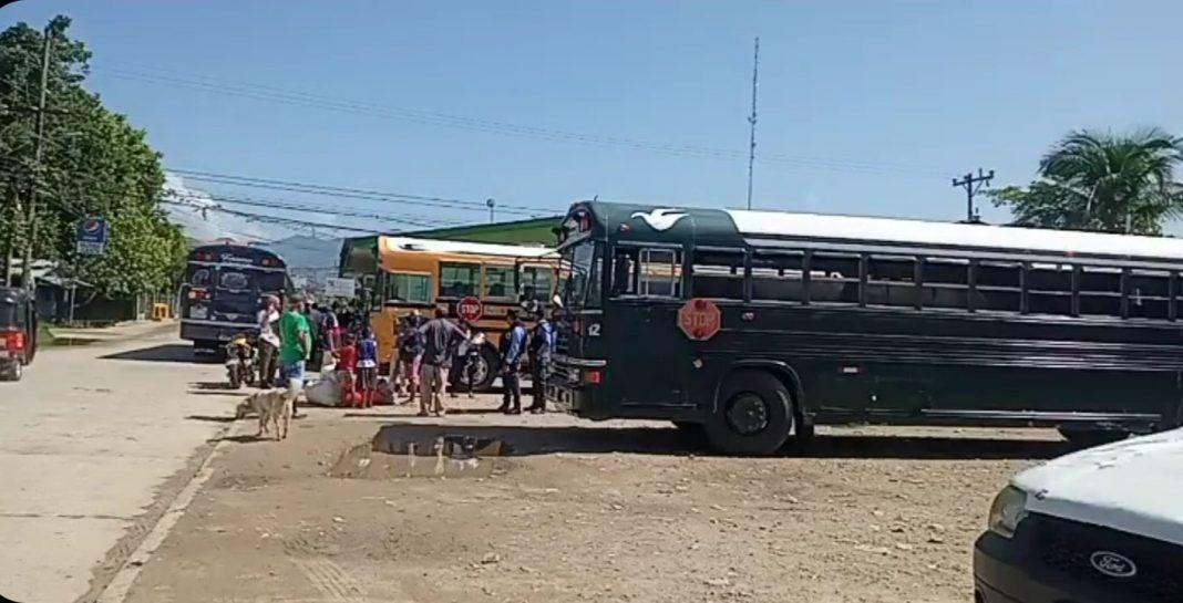 tiroteo en terminal de buses Colón