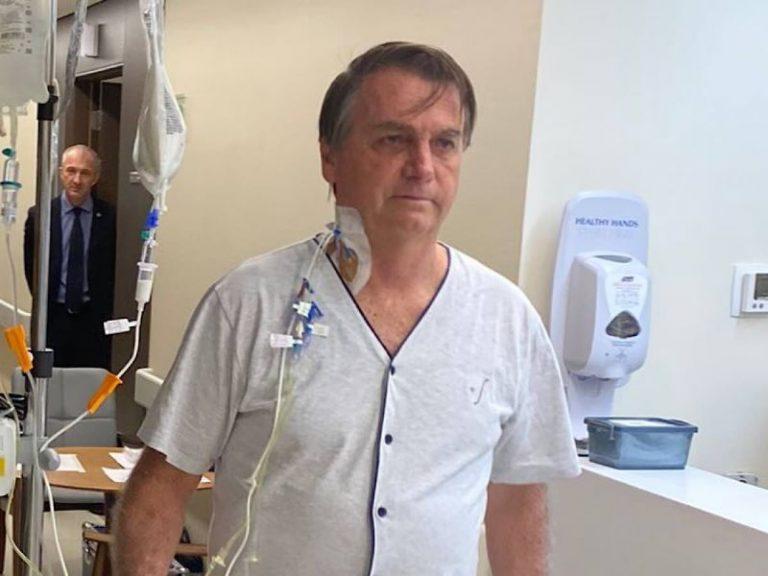 Bolsonaro recibe alta médica luego de estar cuatro días en el hospital