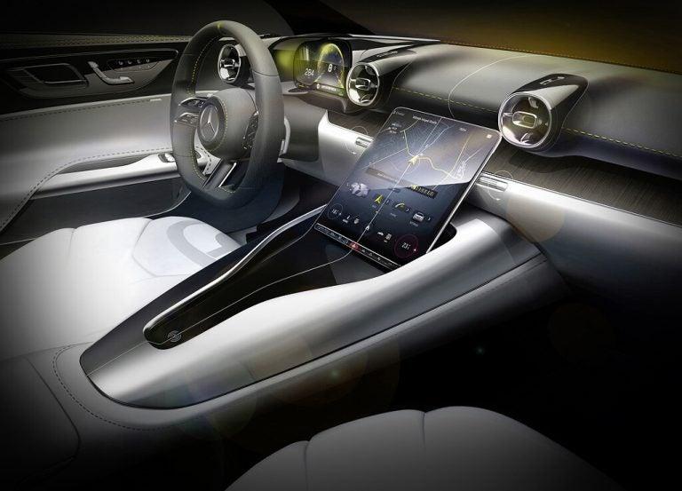 Lujo y elegancia: Mercedes-AMG SL 2022 revela su interior