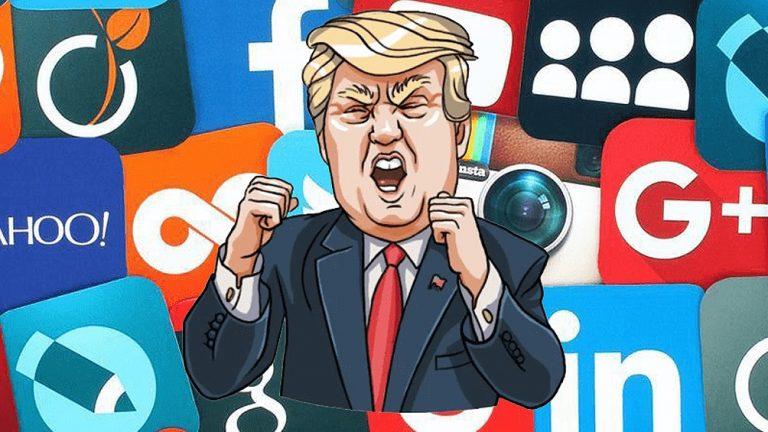 Donald Trump anuncia demanda colectiva contra Facebook, Google y Twitter