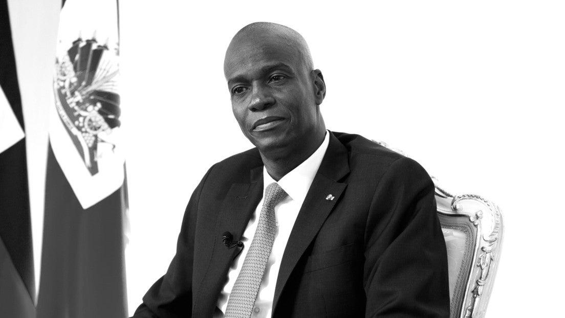 vídeo presidente de haití