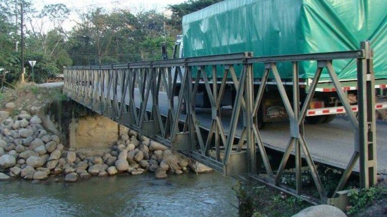 INVEST-H: Tras ocho meses, instalación de puentes Bailey continúa