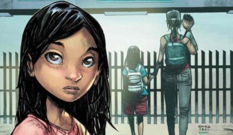 Conozca a Ana, el cómic de una valiente niña migrante hondureña