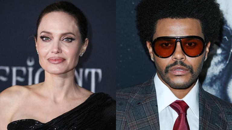¿Romance a la vista? Captan a The Weeknd y Angelina Jolie en el mismo lugar