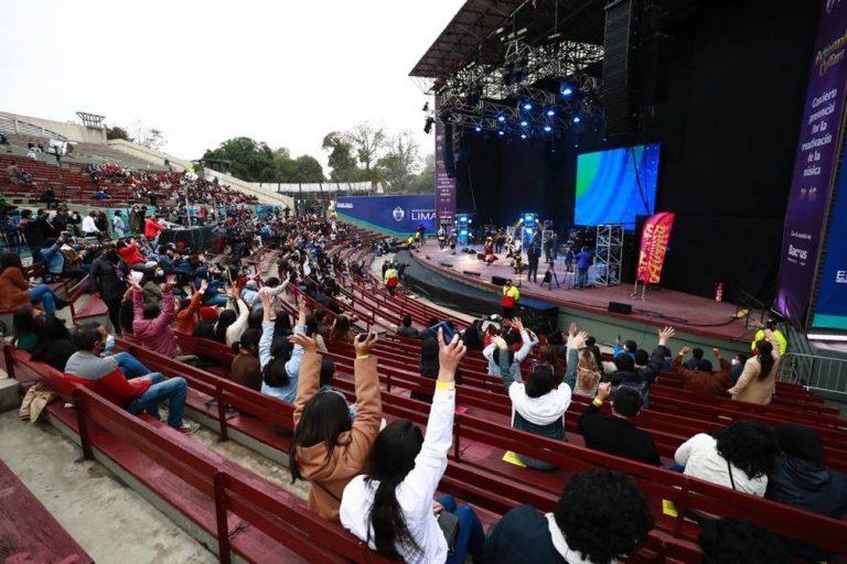 Perú realiza el primer concierto presencial desde que inició la pandemia