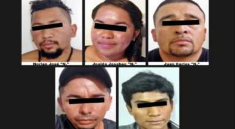 México: 75 años de condena a cinco hondureños por secuestro de migrantes