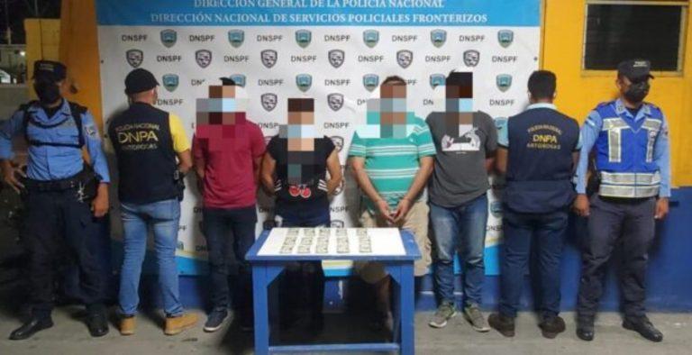 Caen tres extranjeros y un hondureño por lavado de activos y tráfico de personas