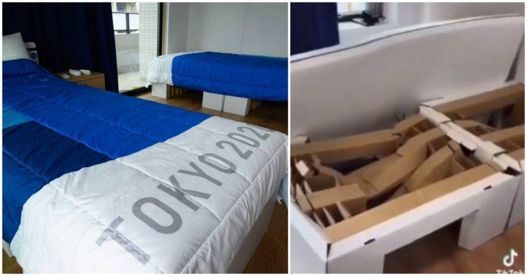 Atletas rompen una cama «antisexo» en Juegos Olímpicos de Tokio