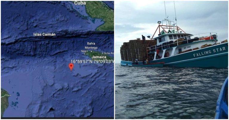 Rescatan a 10 de los 15 tripulantes desaparecidos en el mar Caribe