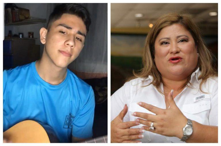 «Fortaleza» pide diputada Welsy por muerte de sobrino tiktoker