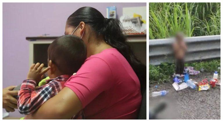 «No dormía, ni comía»: Hondureña se reencuentra con su hijo abandonado en México