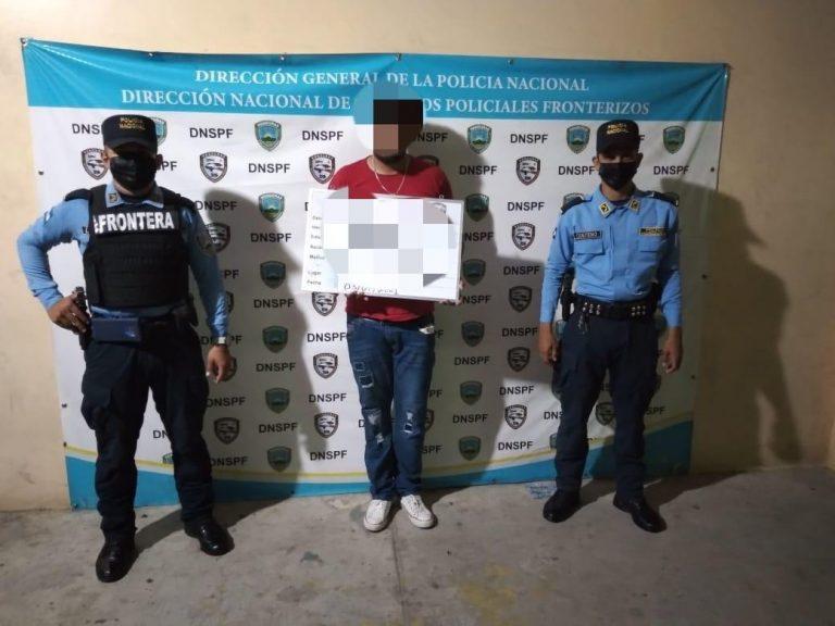 Choluteca: agentes fronterizos detienen a sujeto por tráfico de personas