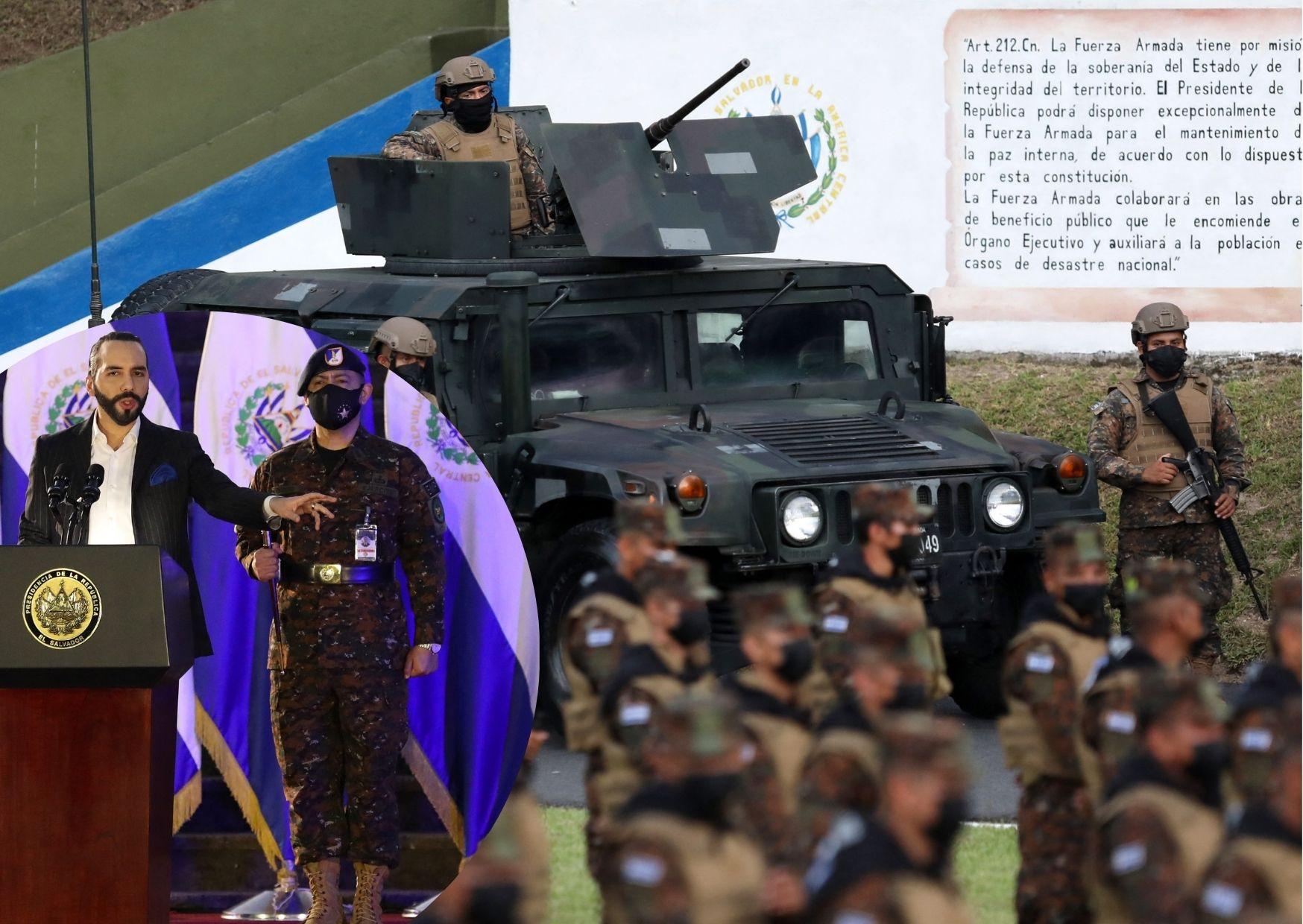 bukele Ejército de El Salvadorbukele Ejército de El Salvador