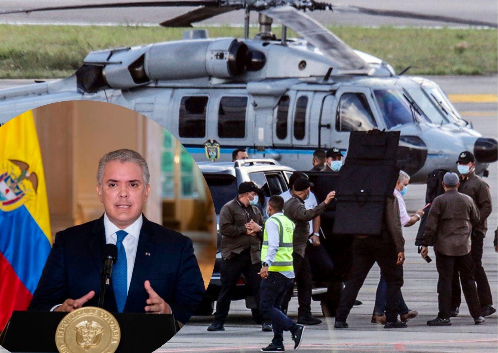 colombia atentado contra Duque