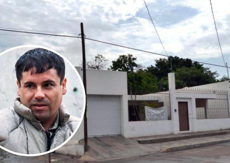 """El gobierno mexicano rifará casa de la que se fugó """"El Chapo"""" Guzmán en 2014"""