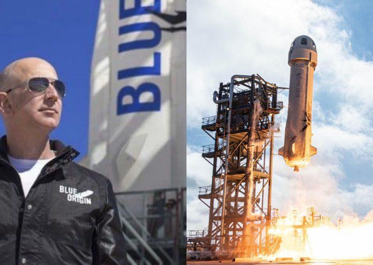 VÍDEO y FOTOS: así fue el viaje de Jeff Bezos al espacio en nave de Blue Origin