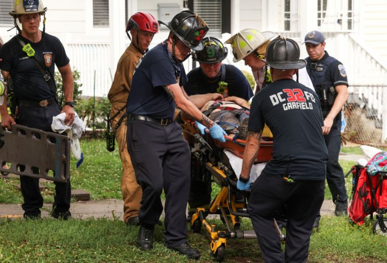 Washington | Cinco heridos tras el colapso de un edificio en construcción