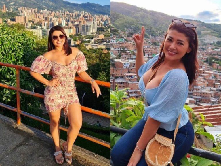 Colombiano queda enamorado de Milagro Flores y esto dijo de las hondureñas