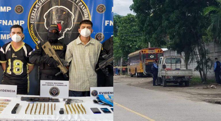 SPS: Caen dos pandilleros vinculados a tres muertos en camión en El Limonar