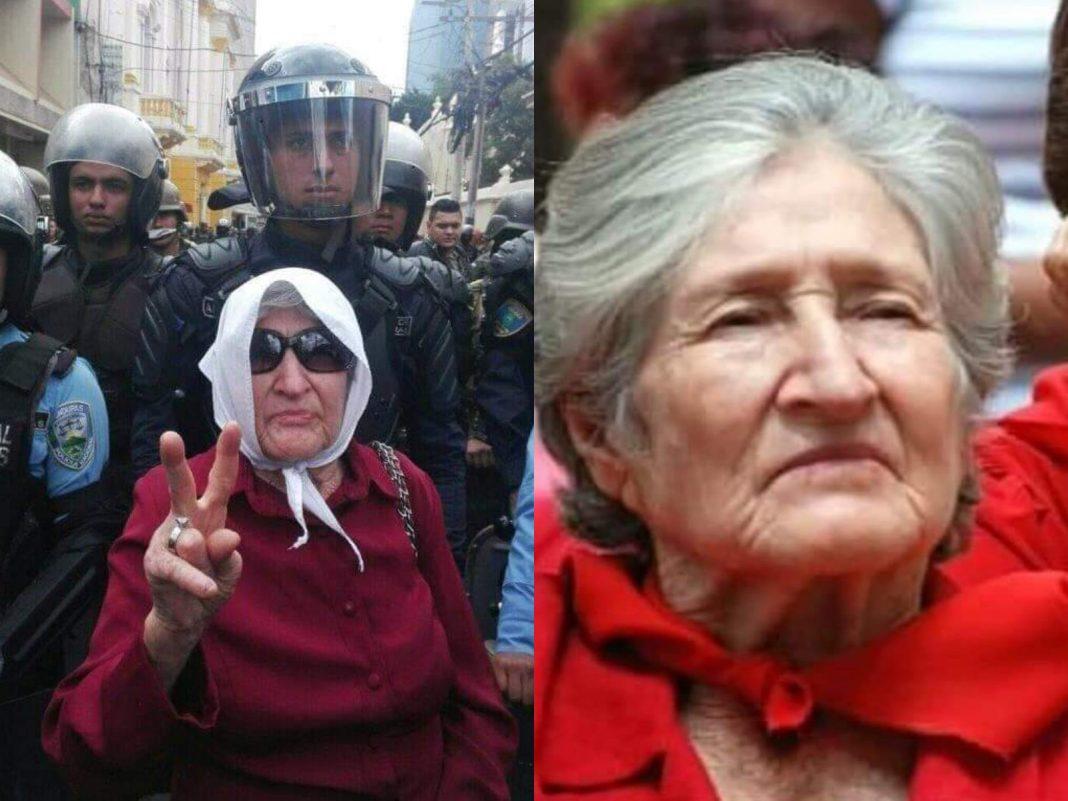 abuela de la resistencia yolanda