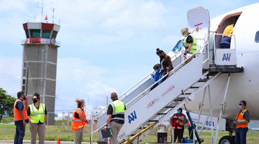 EEUU deportación Honduras