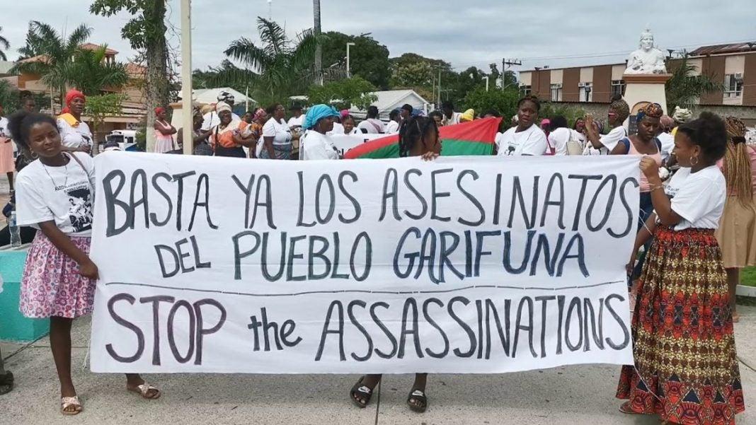 ONU CIDH defensores garífunas Honduras