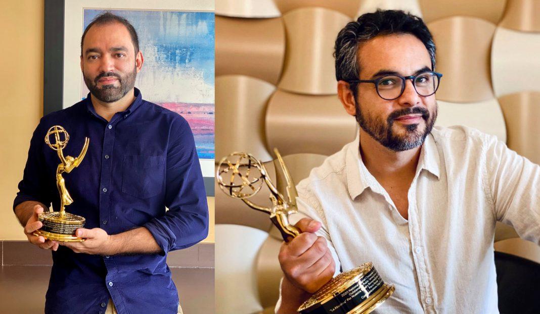 Hondureños ganan premio Emmy