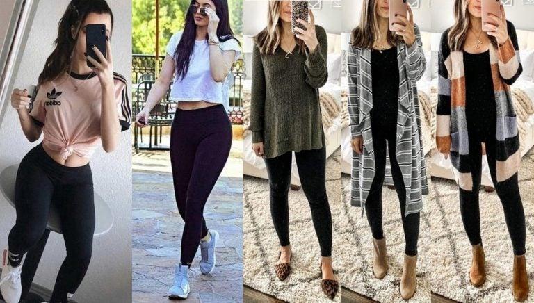 Los «pecados» que cometemos las mujeres al usar leggins