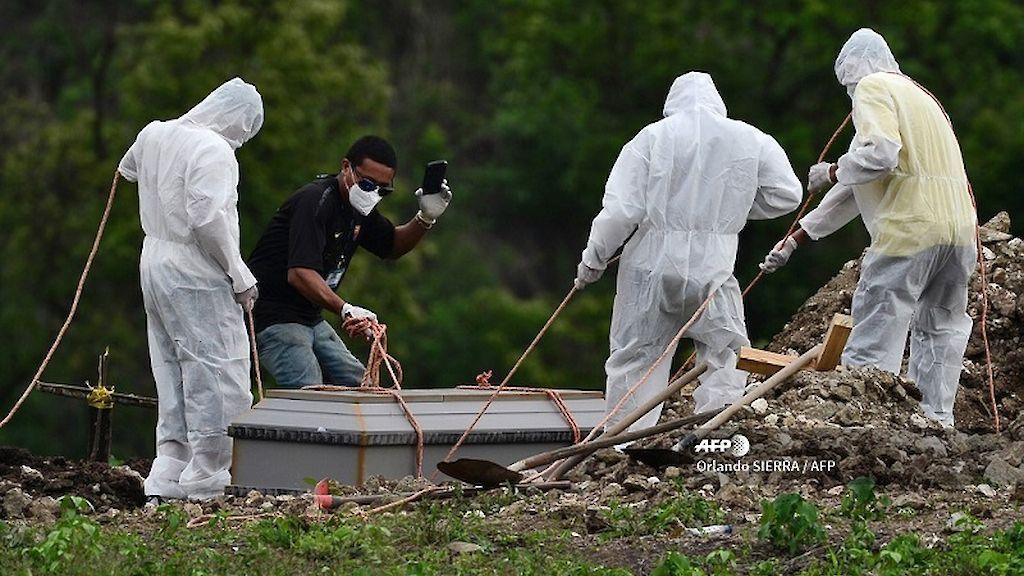 Honduras muertes Covid-19 2021