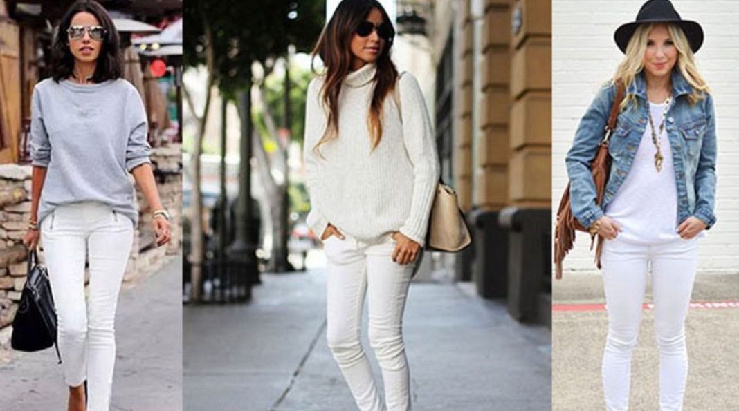Tips outfit jeans blancos