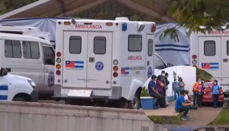 Empleados del 911 paralizan ambulancias y exigen a COPECO insumos para atender