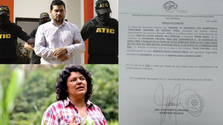 Juicio de Berta: Tribunal de Sentencias programa para el 5 de julio el fallo