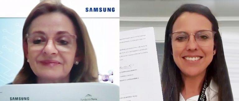 Fundación Terra firma alianza con Samsung para formar a jóvenes