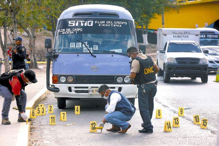 OV-UNAH: Unos 44 transportistas han sido asesinados en Honduras en 2021