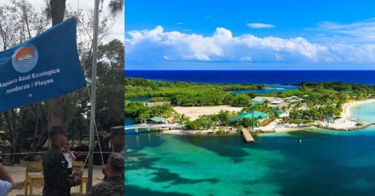 Galardonan a la paradisíaca isla de Utila con la Bandera Azul Ecológica