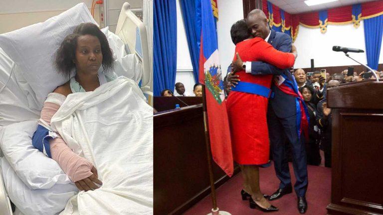 «Cariño, estamos muertos»: Primera dama relata cómo murió el presidente de Haití