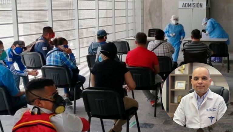 «El pico más alto»: advierten que Honduras registró casi 8 mil casos en siete días