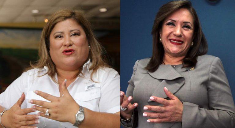 Por salir en lista Engel, Welsy Vásquez y Gladys Aurora ponen denuncia en el CONADEH