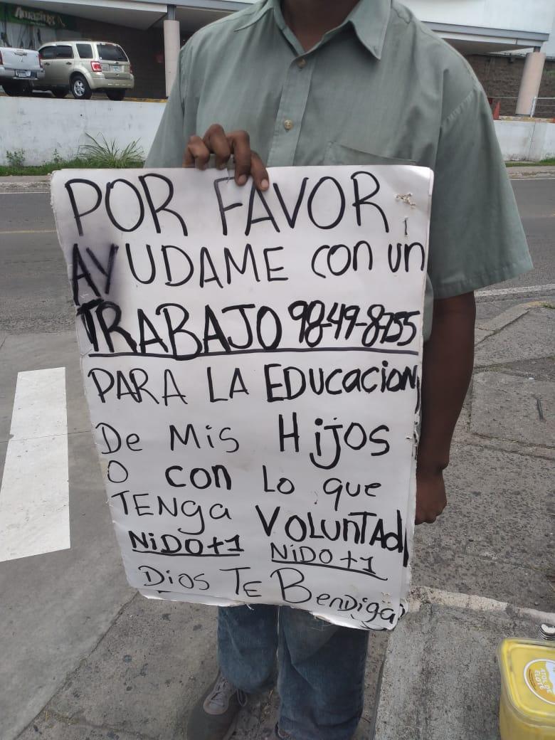 mendicidad en Honduras