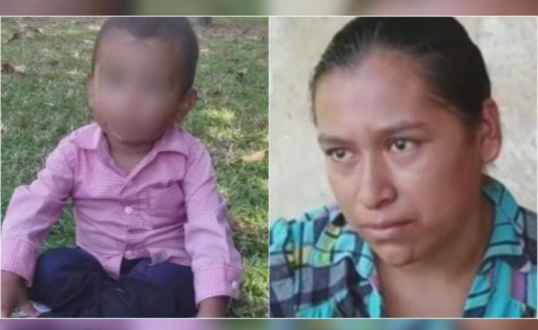 """No sabía nada"": Madre de niño hondureño abandonado en México explica qué pasó"