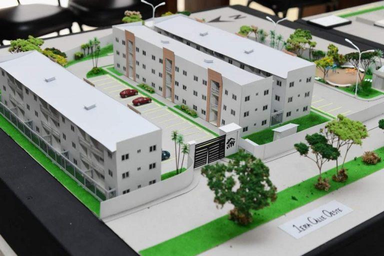 Concluye construcción de primeros edificios del complejo de vivienda social vertical
